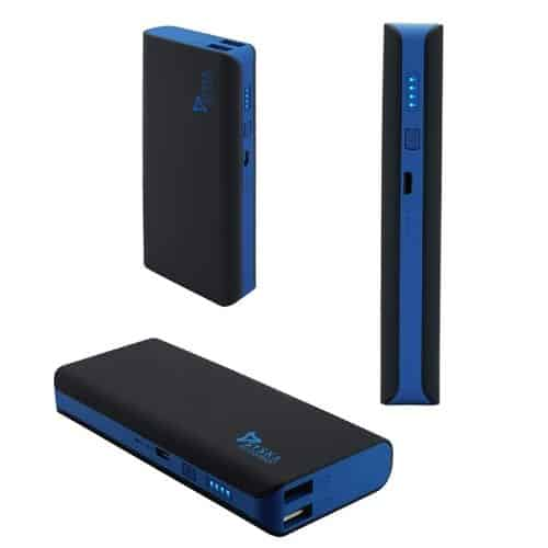 Syska blue and black colour 11000 mah power bank in india