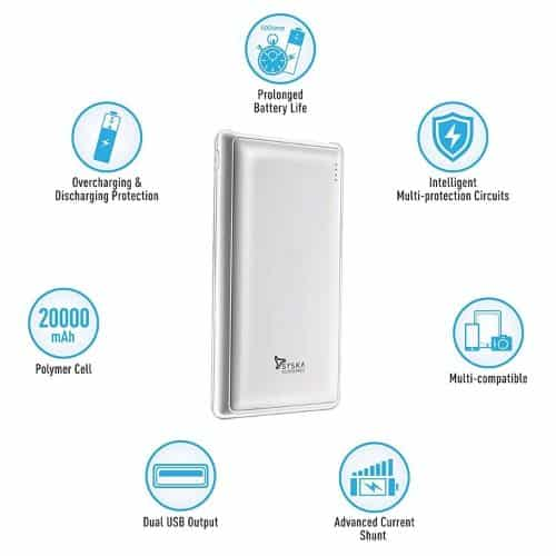Syska power pro best power bank in india 2020