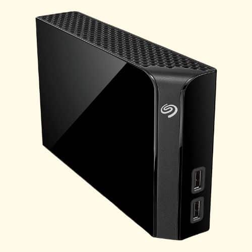 Seagate Backup Plus Hub 4 TB External Hard Drive Desktop HDD