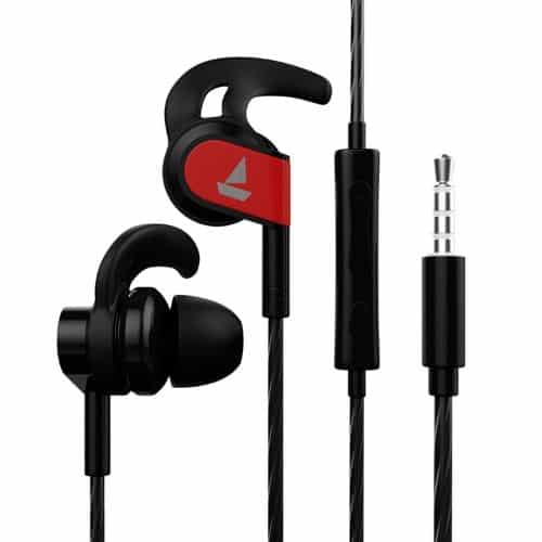 boAt BassHeads 242 is one of the best earphones under 500